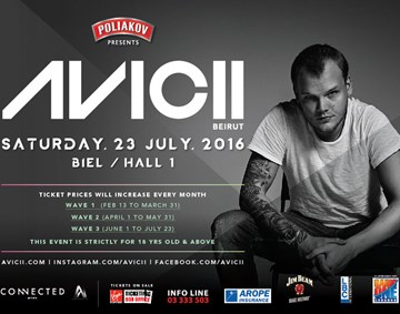 AVICII in Beirut